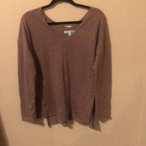 Light purple She + Sky sweater